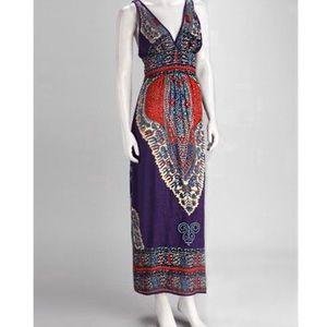 Angie Purple Maxi Dress